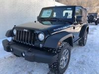 Black Clearcoat 2018 Jeep Wrangler JK Rubicon 4WD