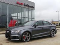 This 2019 Audi S3 Premium Plus is proudly offered by