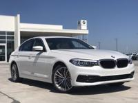 2019 BMW 5 Series 530i Sport Mineral White Metallic RWD