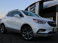 White Frost 2019 Buick Encore Essence AWD 6-Speed