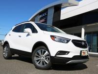 Summit White 2019 Buick Encore Preferred AWD 6-Speed