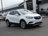 Summit White 2019 Buick Encore Preferred FWD 6-Speed