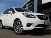 Summit White 2019 Buick Envision Essence AWD 6-Speed