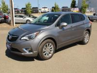 Satin Steel Gray Metallic 2019 Buick Envision Essence