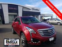 Red 2019 Cadillac XT5 Luxury AWD 8-Speed Automatic 3.6L
