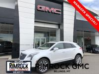 Crystal White 2019 Cadillac XT5 Platinum AWD 8-Speed