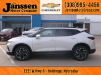 Drive home today in this new 2019 Chevy Blazer. There