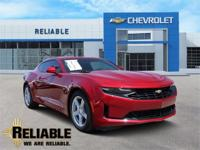 Red 2019 Chevrolet Camaro 1LT RWD 8-Speed Automatic