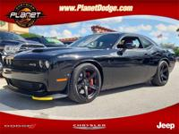 Pitch Black Clearcoat 2019 Dodge Challenger SRT Hellcat