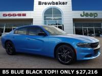 Blue Pearl 2019 Dodge Charger SXT RWD 8-Speed Automatic