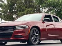 Red 2019 Dodge Charger SXT RWD 8-Speed Automatic 3.6L