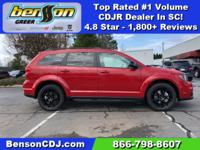 Red Line 2019 Dodge Journey SE FWD 4-Speed Automatic