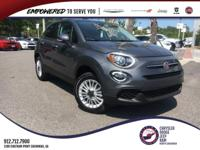 graphite grey metallic 2019 Fiat 500X Pop AWD 9-Speed