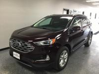 Burgundy 2019 Ford Edge SEL AWD 8-Speed Automatic 2.0L