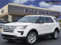 White Metallic 2019 Ford Explorer XLT AWD 6-Speed