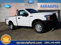 2019 Ford F-150 XL 4WD, Cloth 40/20/40 Front Seat,