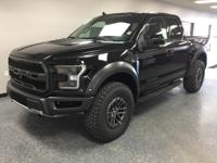 Black 2019 Ford F-150 Raptor 4WD 10-Speed EcoBoost 3.5L