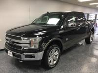 Agate Black 2019 Ford F-150 King Ranch 4WD 10-Speed