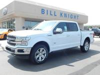 Oxford White 2019 Ford F-150 King Ranch 4WD 10-Speed
