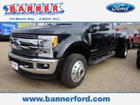 Black 2019 Ford F-450SD Lariat DRW 4WD 6-Speed