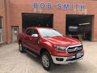2019 Ford Ranger Lariat Crew Cab Chili Pepper Red 4WD