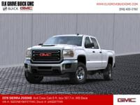 Summit White 2019 GMC Sierra 2500HD 4WD Allison 1000