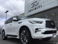 Moonstone 2019 INFINITI QX80 LUXE RWD 7-Speed Automatic