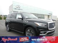 - - - 2019 INFINITI QX80 LUXE AWD - - -  4 Wheel Disc