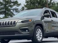 Olive Green 2019 Jeep Cherokee Latitude FWD 9-Speed