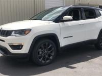 White Clearcoat 2019 Jeep Compass High Altitude FWD
