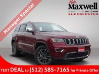 $8,285 off MSRP! 2019 Jeep Grand Cherokee Limited