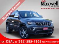 $8,485 off MSRP! 2019 Jeep Grand Cherokee Limited