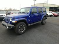 $2,968 off MSRP! 2019 Jeep Wrangler Unlimited Sahara