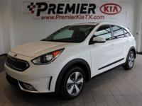 Snow White Pearl 2019 Kia Niro EX FWD 6-Speed Dual