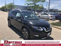 2019 Nissan Rogue SL Magnetic Black Pearl AWD 2.5L I4
