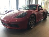 Carmine Red 2019 Porsche 718 Cayman S RWD 7-Speed