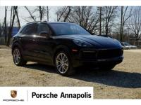 Black 2019 Porsche Cayenne S AWD 8-Speed Automatic with