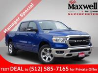 $13,626 off MSRP! 2019 Ram 1500 Big Horn/Lone Star Big