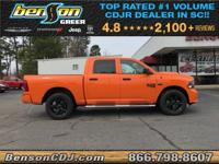 Orange 2019 Ram 1500 Classic Express 4WD 8-Speed