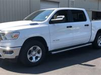 Bright White Clearcoat 2019 Ram 1500 Tradesman RWD