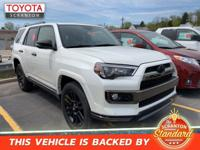 Blizzard Pearl 2019 Toyota 4Runner Limited Nightshade
