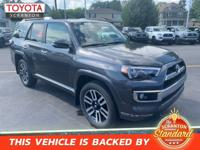 Magnetic Gray Metallic 2019 Toyota 4Runner Limited 4WD