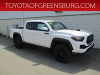 Super White 2019 Toyota Tacoma TRD Pro V6 4WD 6-Speed