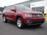 Red Metallic 2019 Volkswagen Atlas SE 4Motion AWD