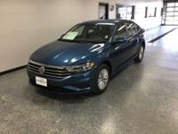 Blue 2019 Volkswagen Jetta FWD 8-Speed Automatic with