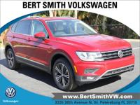 Red 2019 Volkswagen Tiguan SEL FWD 8-Speed Automatic