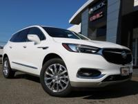 AWD.Summit White 2020 Buick Enclave Essence AWD 9-Speed