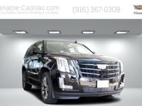 2020 Cadillac Escalade Luxury br br Black Raven 4WD 10