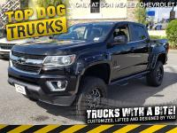 Black 2020 Chevrolet Colorado LT 4WD 8-Speed Automatic