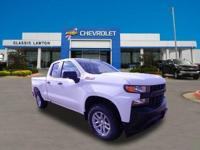 Summit White 2020 Chevrolet Silverado 1500 WT 4WD